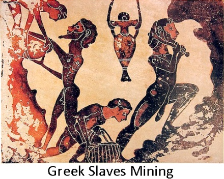 Greek Slaves mining w text
